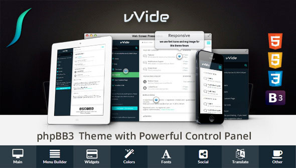 theme forum phpbb3 wide